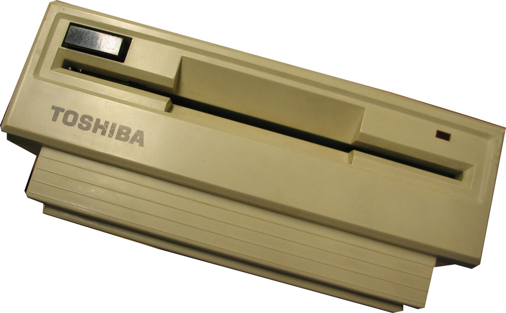 Scan of Document: Toshiba 5-inch Floppy Disk Drive for T1100/T1200