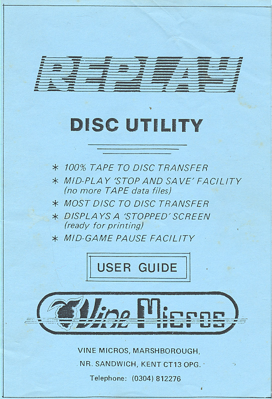 format disc utility: