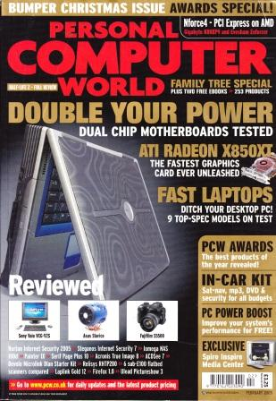 Scan of Document: Personal Computer World - February 2005