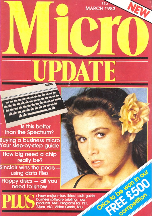 Scan of Document: Micro Update - March 1983