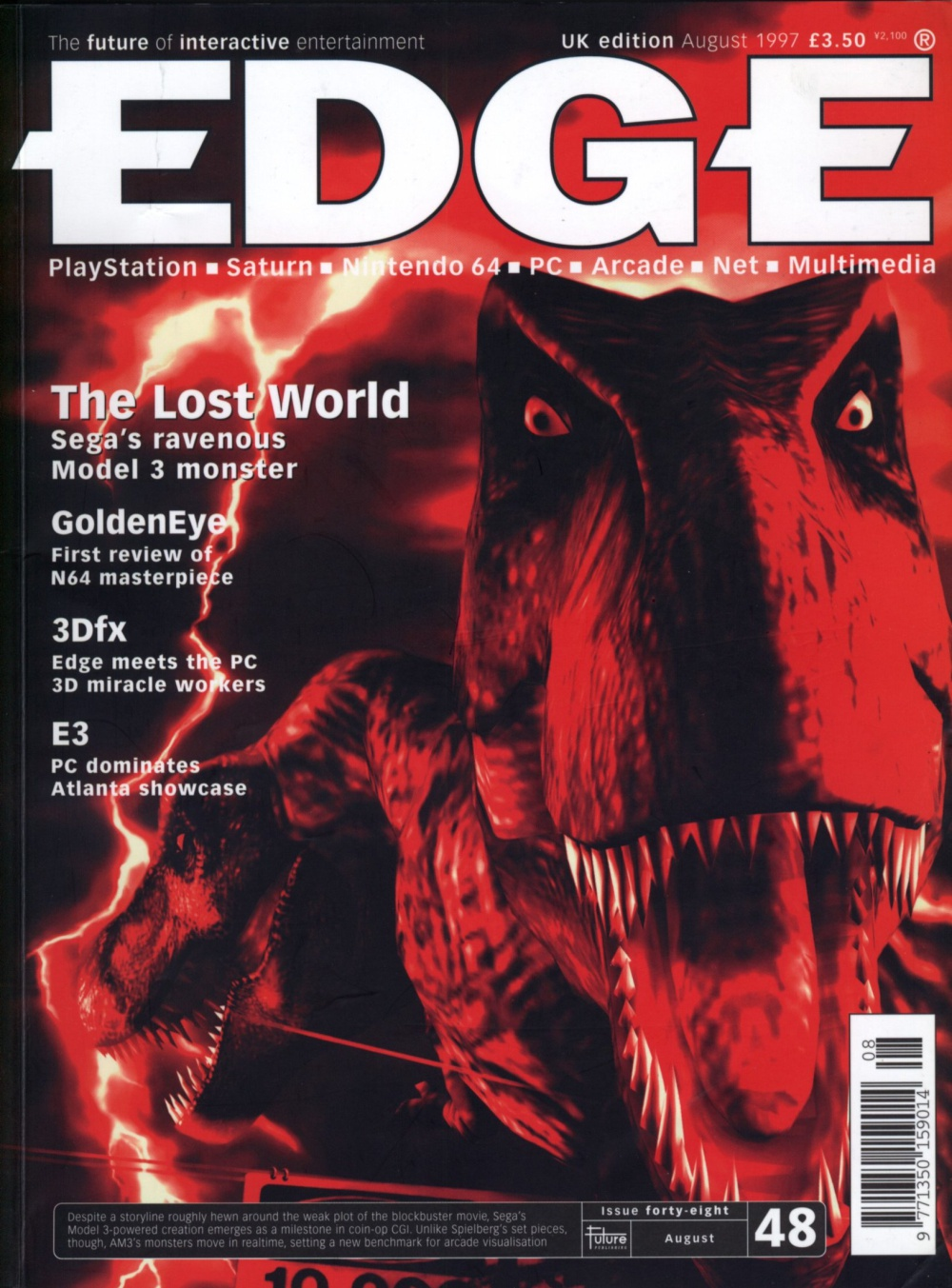 Scan of Document: Edge - Issue 48 - August 1997