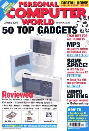 Scan of Document: Personal Computer World - January 2005