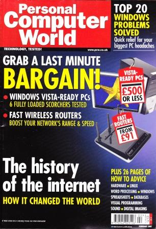 Scan of Document: Personal Computer World - February 2007