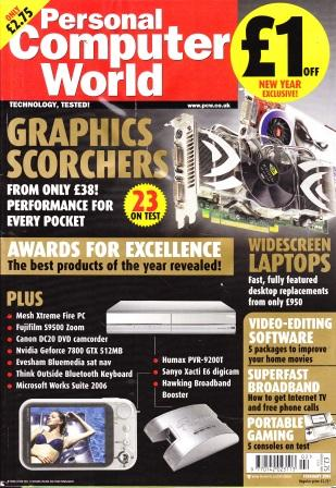 Scan of Document: Personal Computer World - February 2006