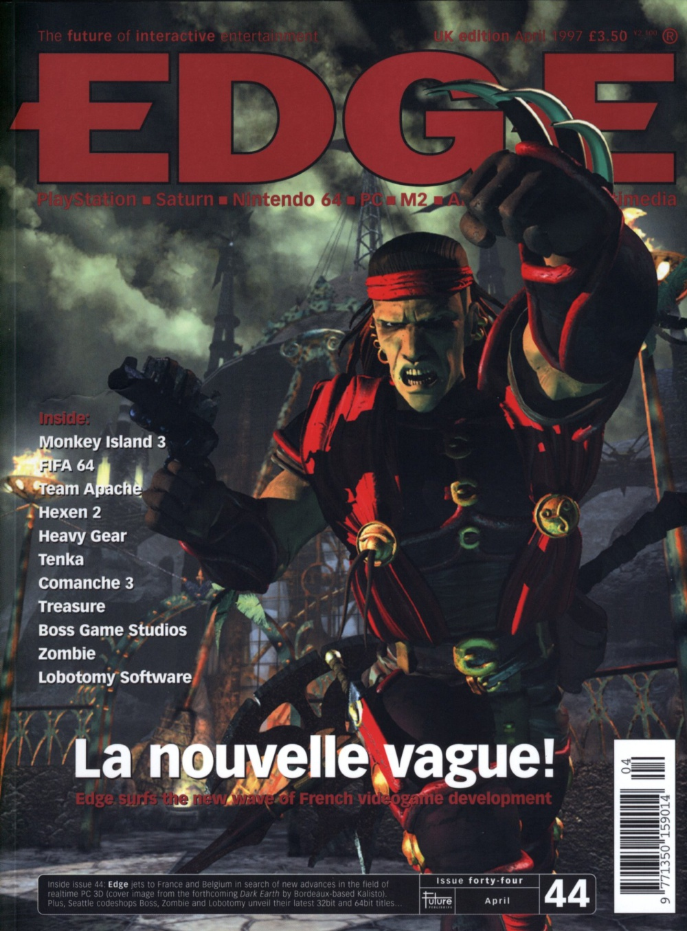 Scan of Document: Edge - Issue 44 - April 1997