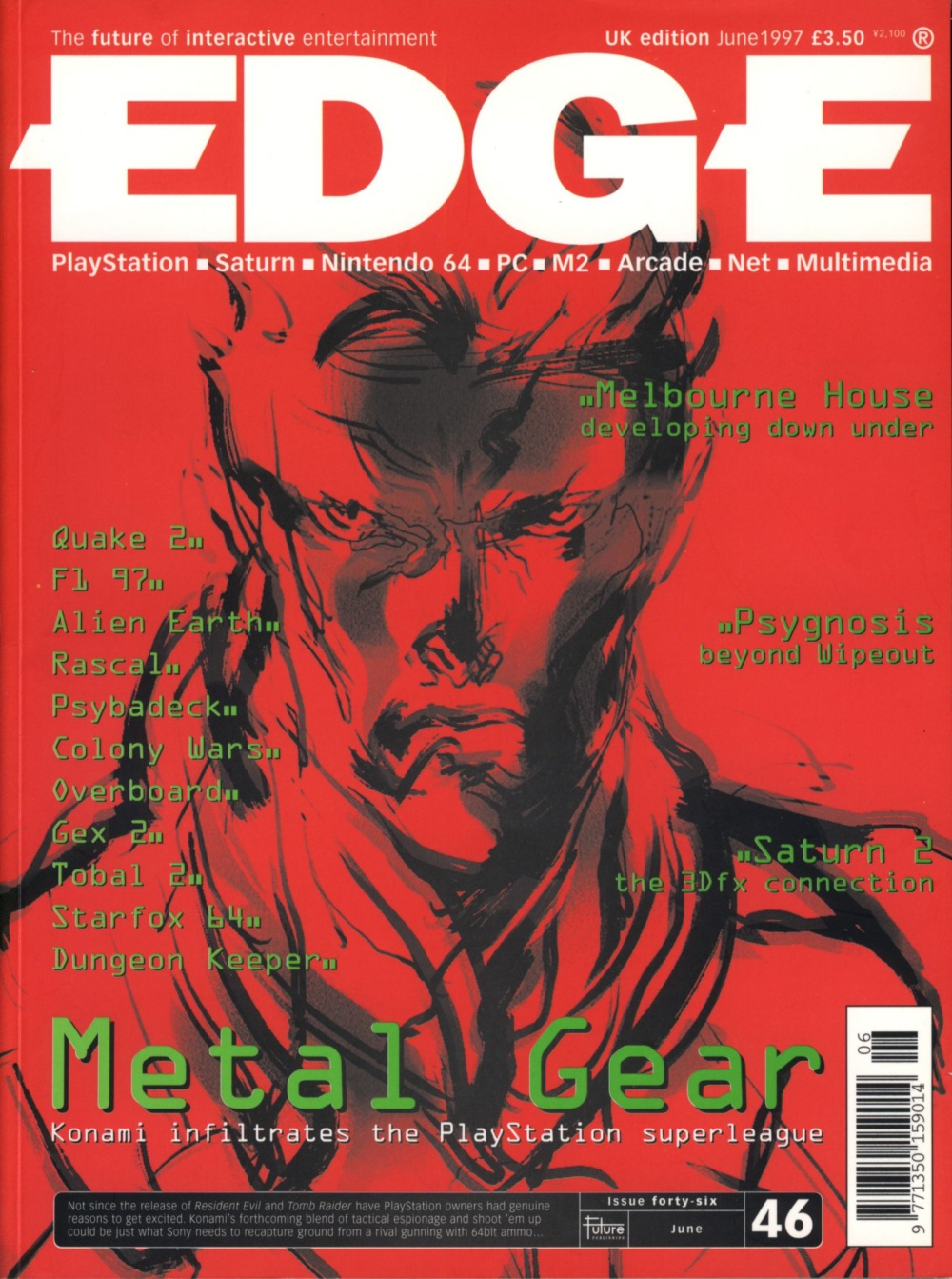 Scan of Document: Edge - Issue 46 - June 1997