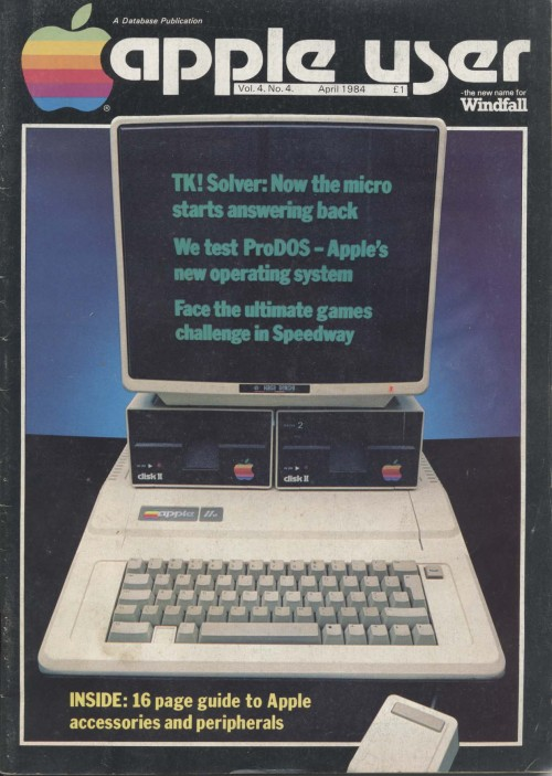 Scan of Document: Apple User - April 1984