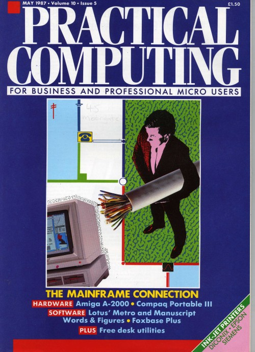 Scan of Document: Practical Computing - May 1987