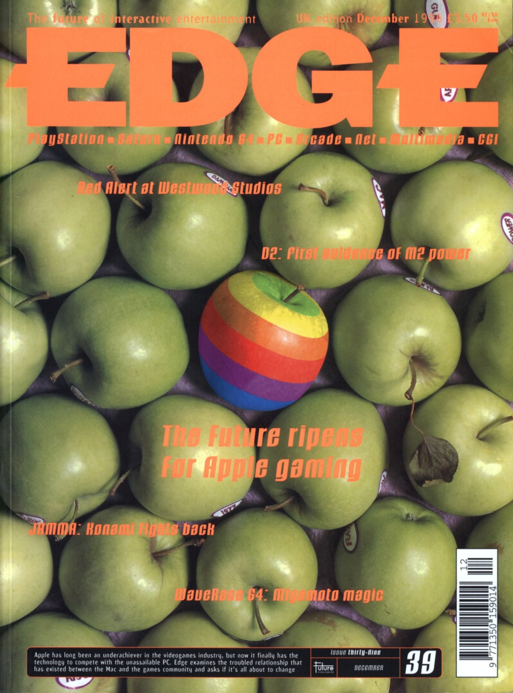 Scan of Document: Edge - Issue 39 - December 1996