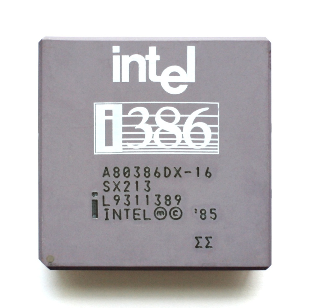 Scan of Document: Intel A80386DX-20