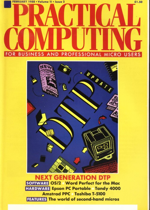 Scan of Document: Practical Computing - February 1988