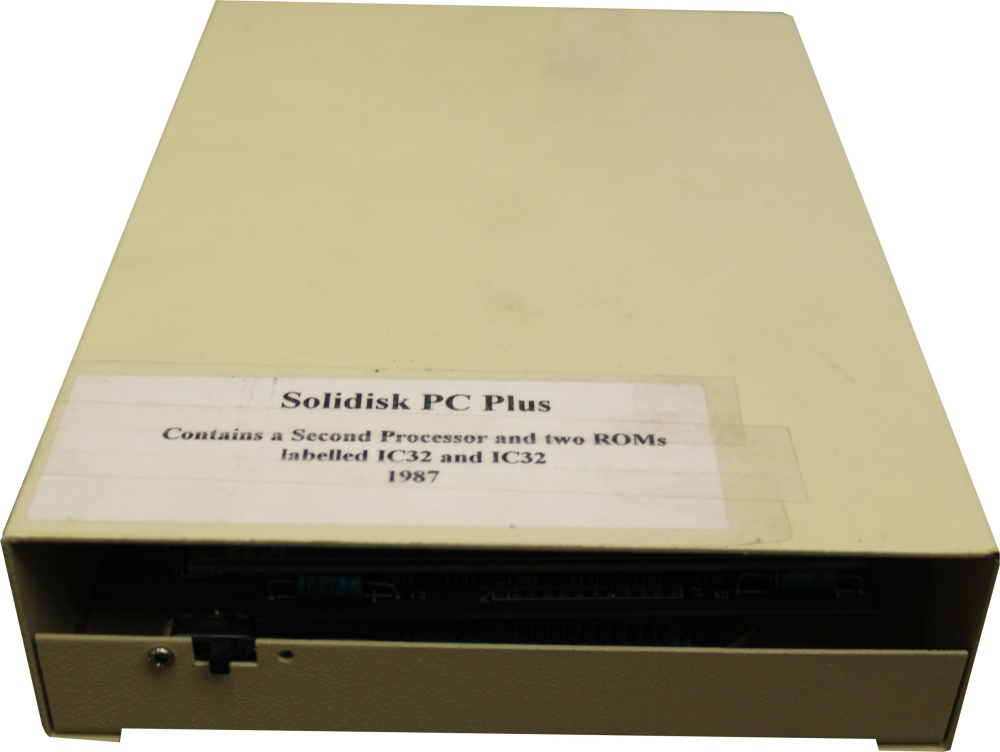 Scan of Document: Solidisk PC Plus