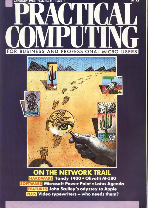 Scan of Document: Practical Computing - January 1988