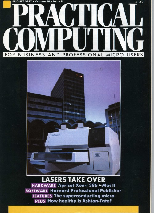 Scan of Document: Practical Computing - August 1987