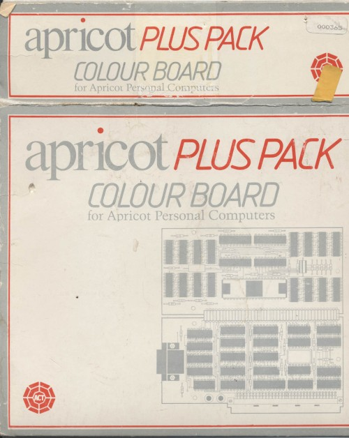 Scan of Document: Apricot Plus Pack Colour Board