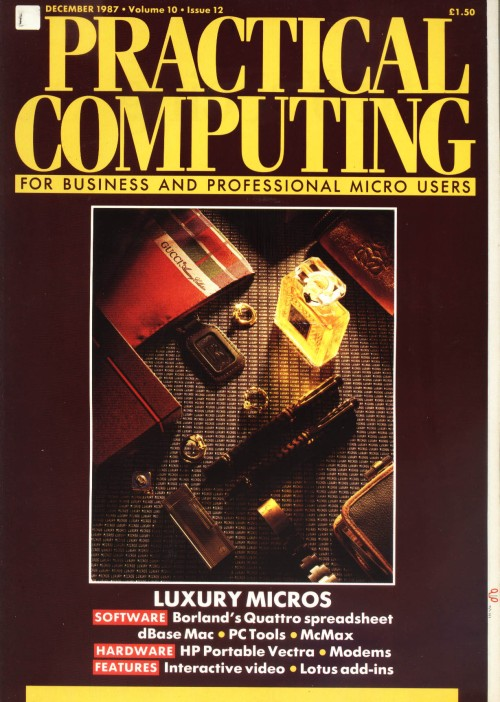 Scan of Document: Practical Computing - December 1987