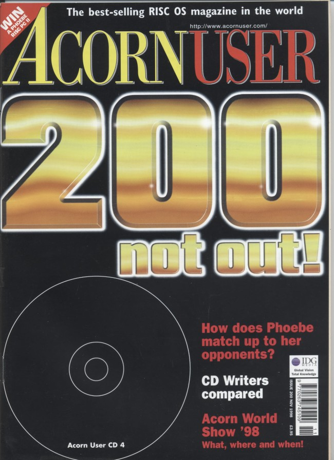 Scan of Document: Acorn User - November 1998