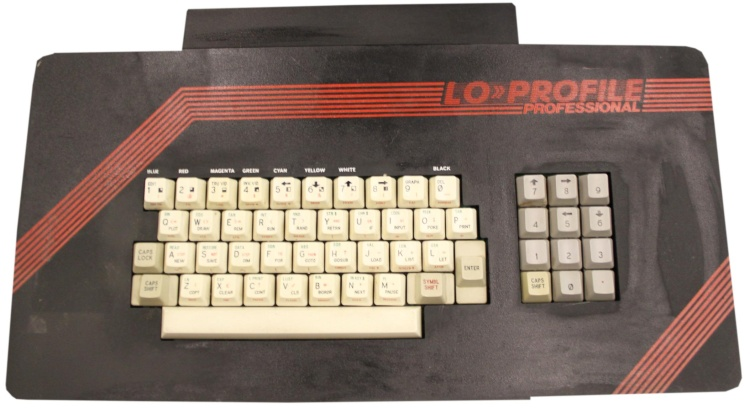 Scan of Document: Lo-Profile Professional Keyboard