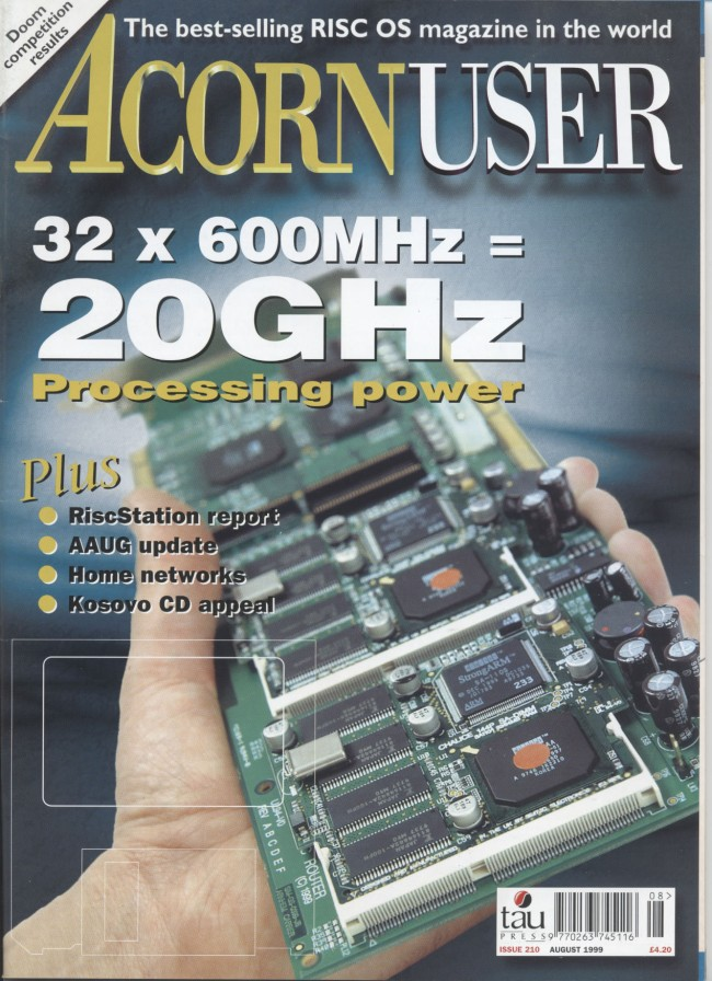 Scan of Document: Acorn User - August 1999