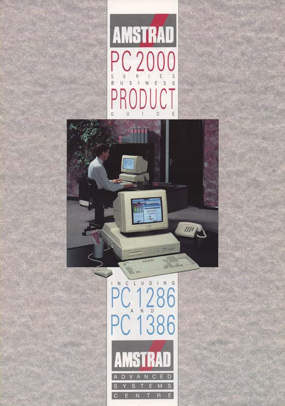 Scan of Document: Amstrad PC 2000 Series Business Product Guide