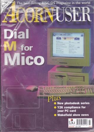 Scan of Document: Acorn User - July 1999
