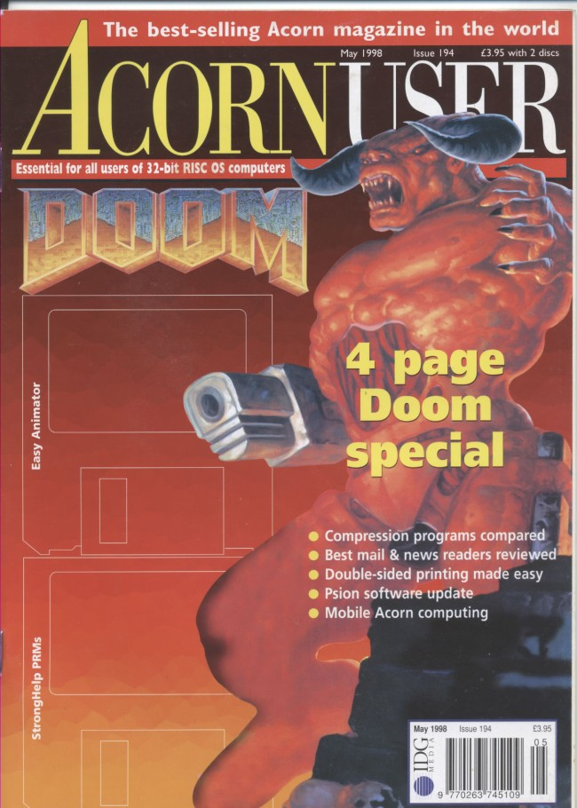 Scan of Document: Acorn User - May 1998