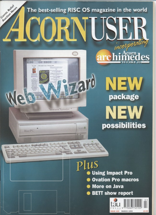 Scan of Document: Acorn User - March 1999