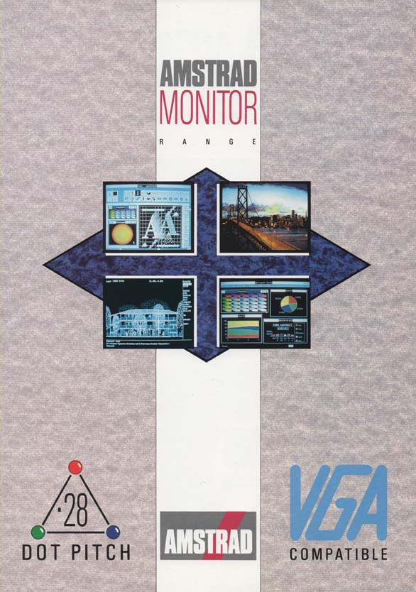 Scan of Document: Amstrad Monitor Range