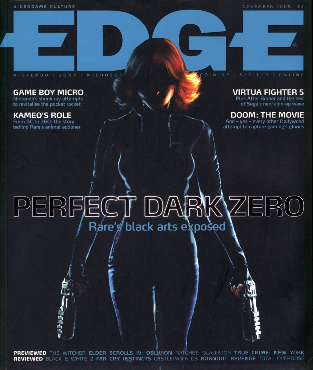 Scan of Document: Edge - Issue 155 - November 2005