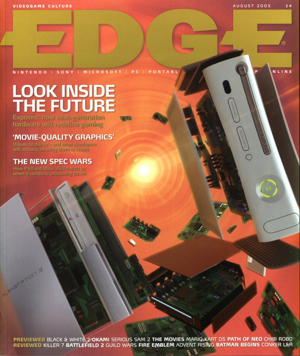 Scan of Document: Edge - Issue 152 - August 2005