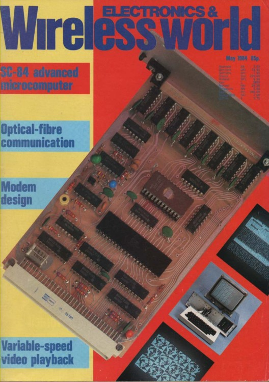 Scan of Document: Electronics & Wireless World May 1984