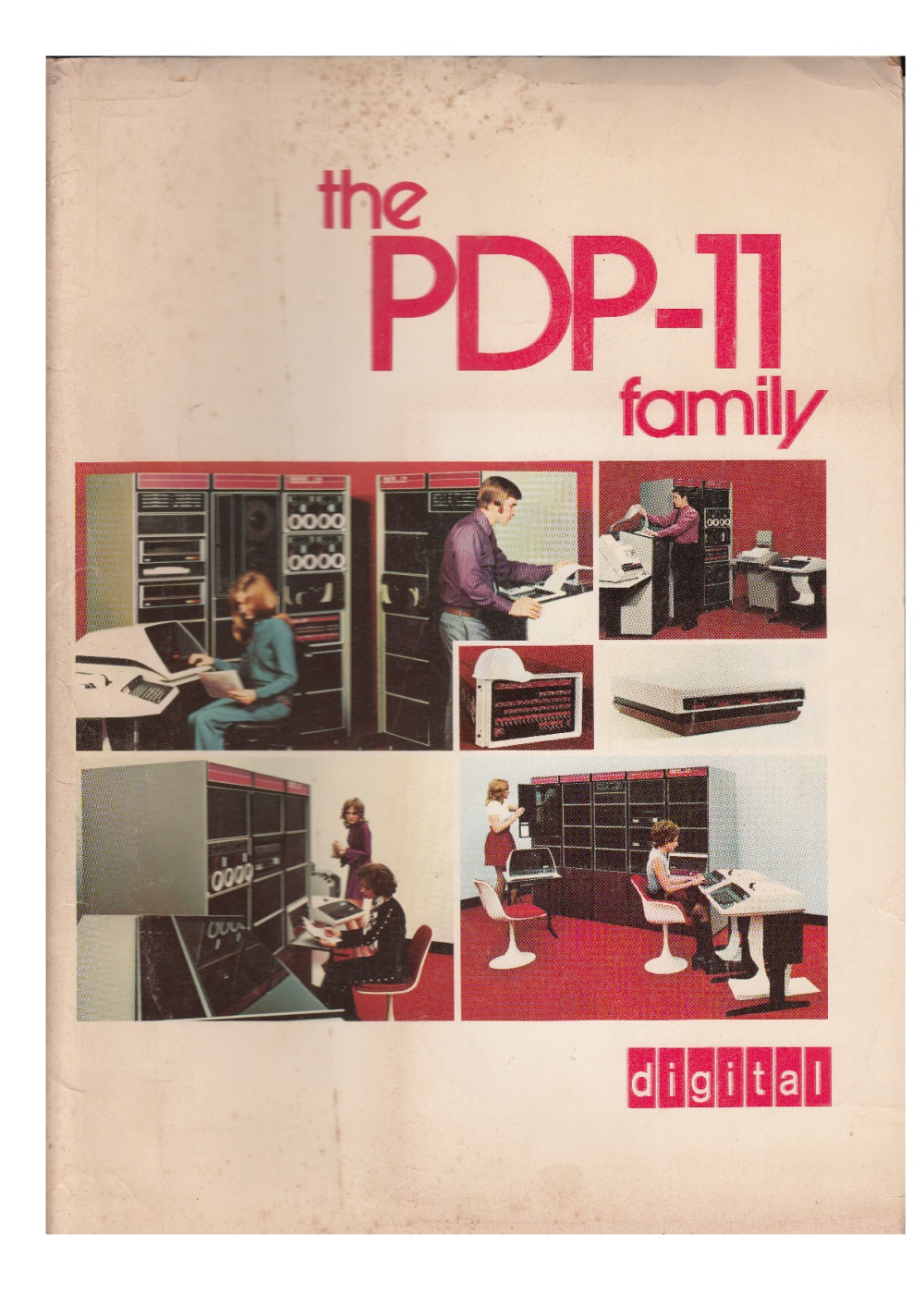 Scan of Document: The PDP-11 Family - Brochures