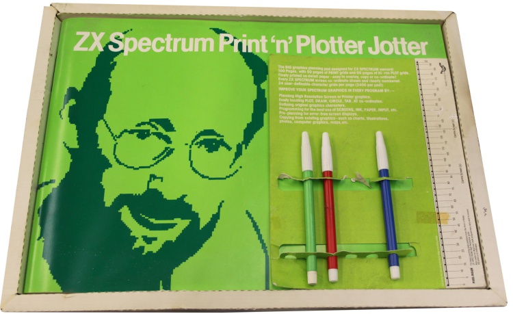 ZX Spectrum Print 'n' Plotter Jotter - Computing History