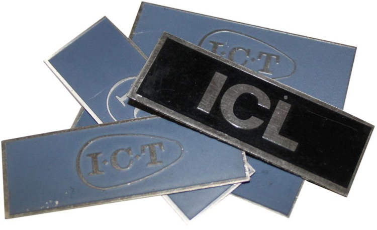 Scan of Document: ICT/ICL Badges
