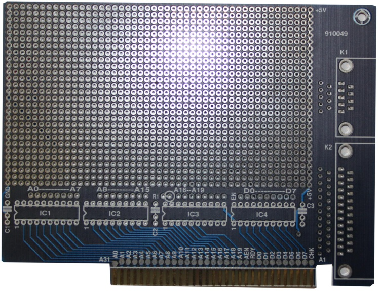 Scan of Document: ISA Prototype Board