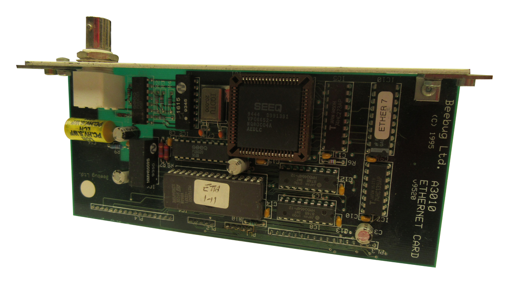 Scan of Document: Beebug A3010 Ethernet Card
