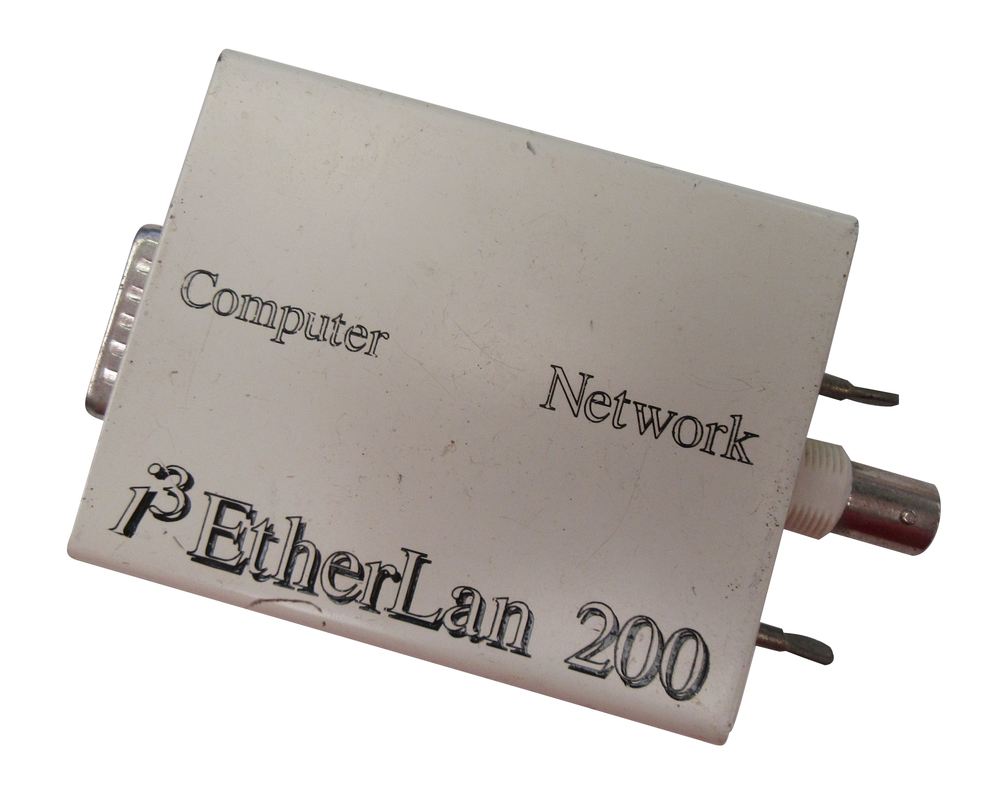 Scan of Document: i-cubed EtherLan 200 MAU