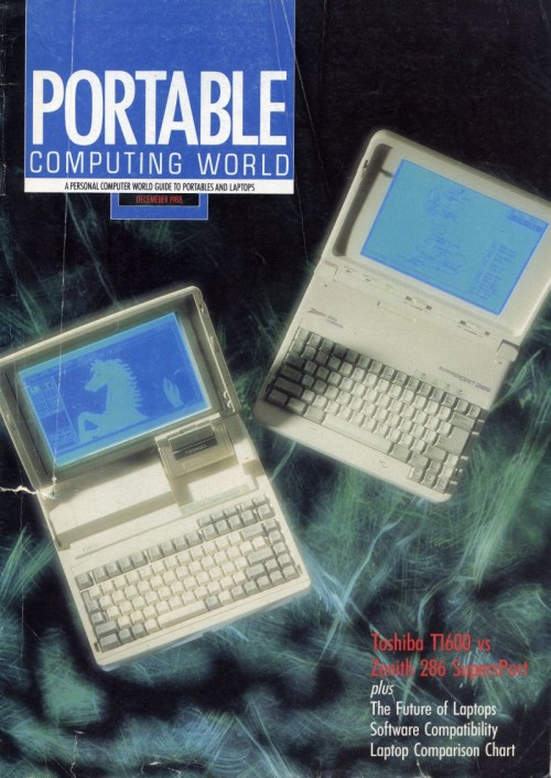 Scan of Document: Personal Computer World - December 1988 Portable Supplement