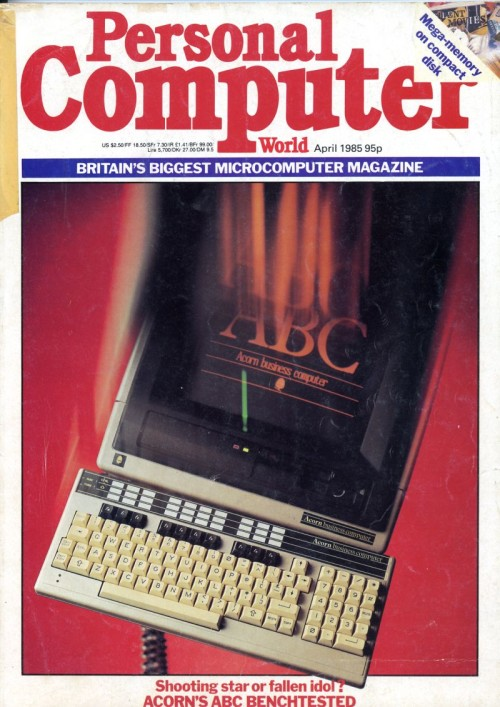 Scan of Document: Personal Computer World - April 1985