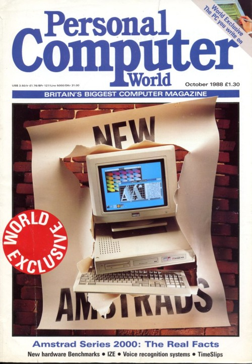 Scan of Document: Personal Computer World - October 1988