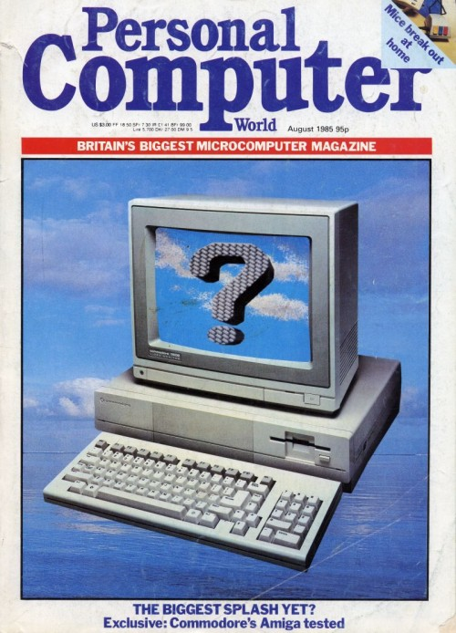 Scan of Document: Personal Computer World - August 1985