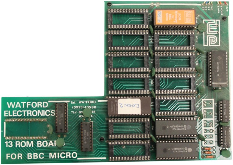 Scan of Document: Watford Electronics 13 ROM Board