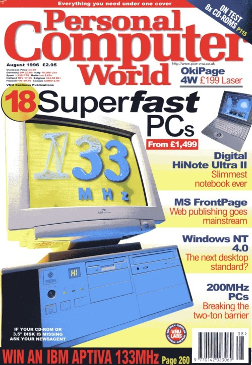 Scan of Document: Personal Computer World - August 1996