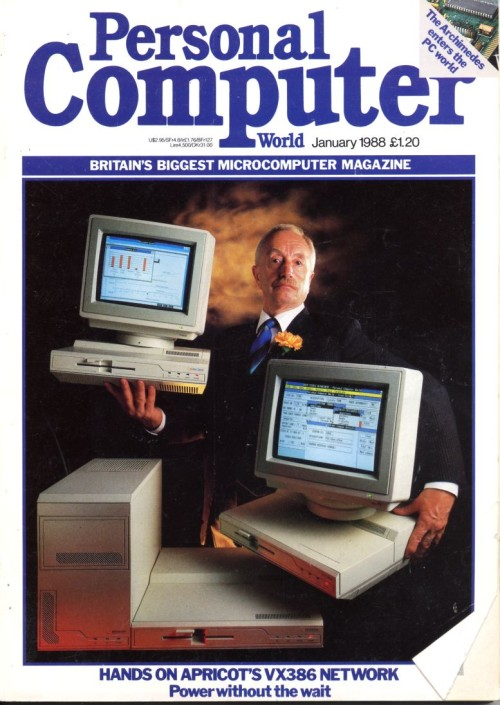 Scan of Document: Personal Computer World - January 1988