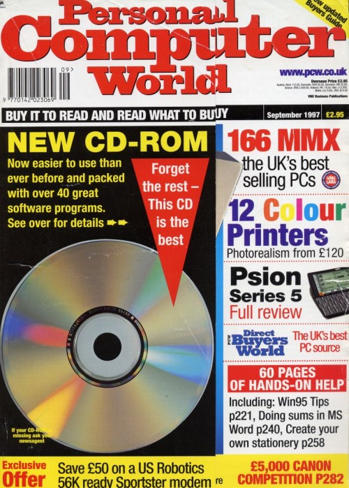Scan of Document: Personal Computer World - September 1997