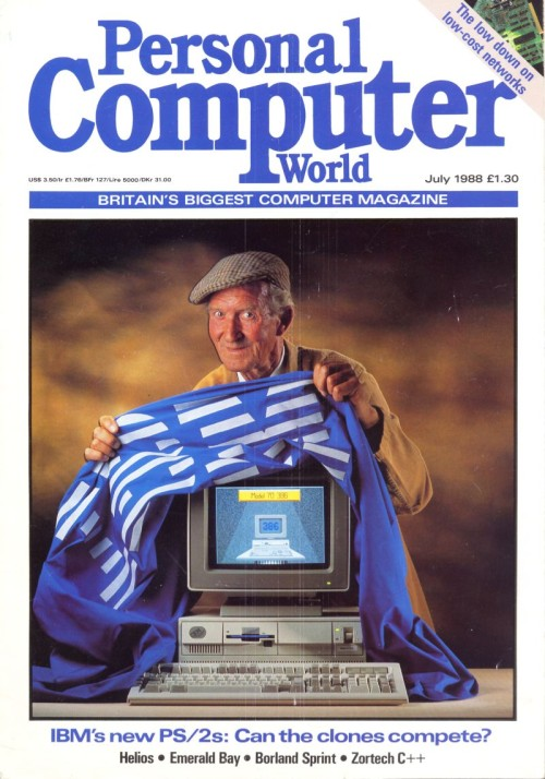 Scan of Document: Personal Computer World - July 1988