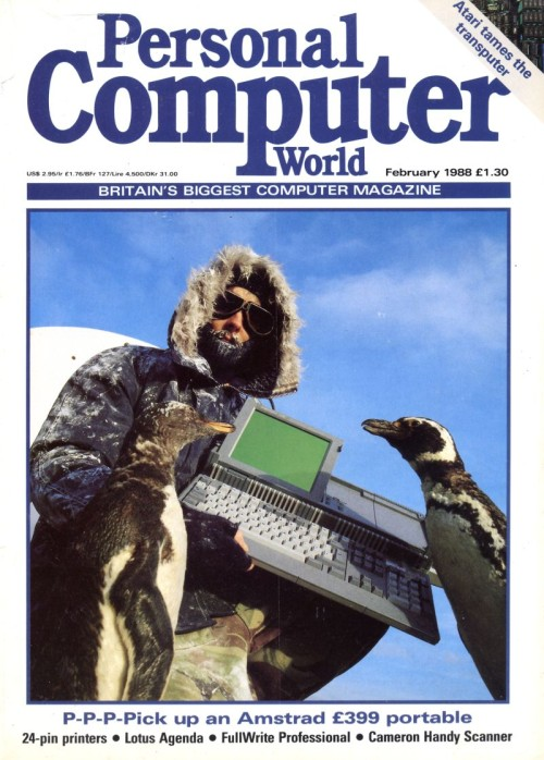 Scan of Document: Personal Computer World - February 1988