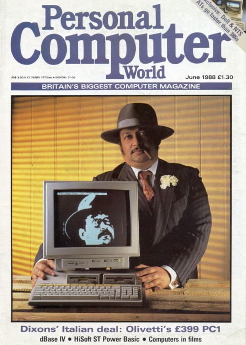 Scan of Document: Personal Computer World - June 1988