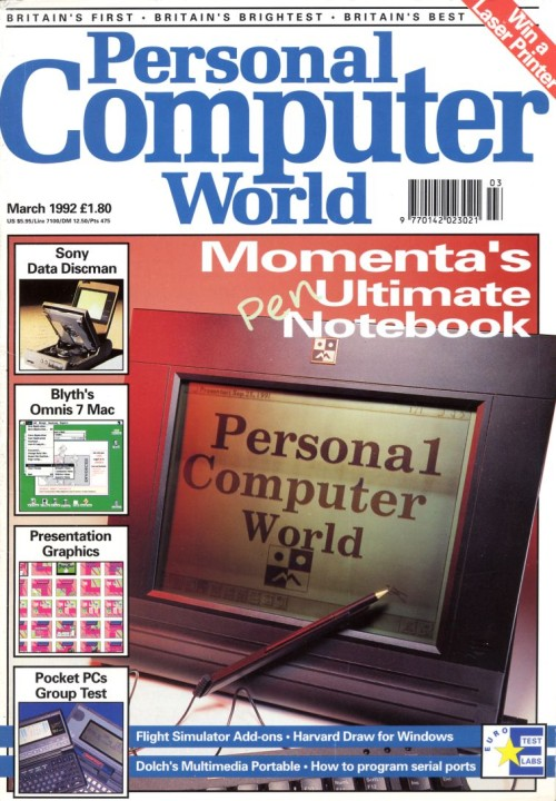 Scan of Document: Personal Computer World - March 1992