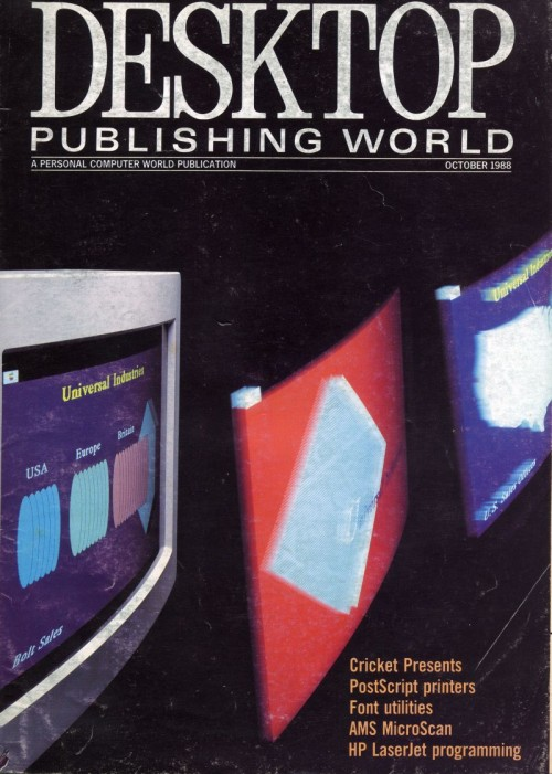 Scan of Document: Personal Computer World - October 1988 Publishing Supplement